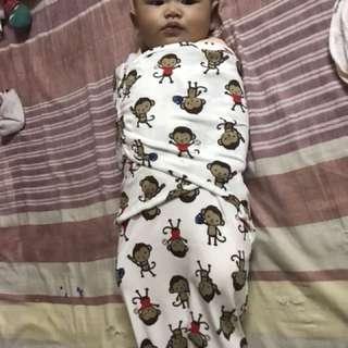 Baby swadle ( Bedung bayi )