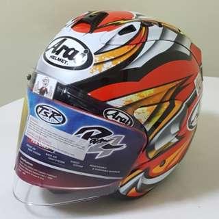 1402♡♡TSR RAM4 NAKAGAMI Helmet CONVERT TO ARAI 🦀 For SALE, Yamaha Jupiter, Spark, Sniper,, Honda, SUZUKI