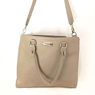 BCBG Paris Zip Top Satchel