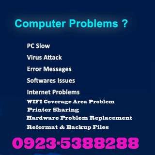 Computer IT Technician Reformat Windows Recovery  Home  Office  School Service Laptop Desktop PC Repair  On Call Technician - Metro Manila