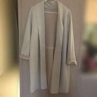 Zara nude coat