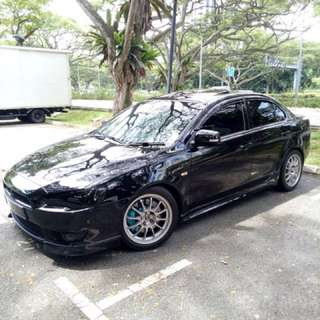 Lancer EX Dekit (Left with Rim+Tyre)