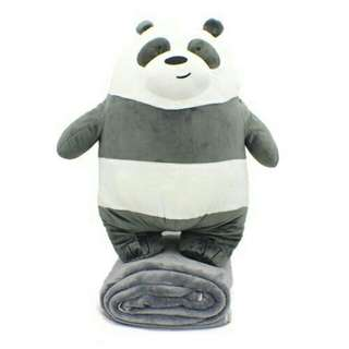 *FREE DELIVERY to WM only / Ready stock*  Panda plush toy pillow each as shown design/color. Free delivery is applied for this item.