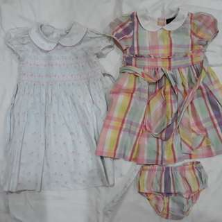 For sale: Laura Ashley and Ralph Lauren toddler dresses