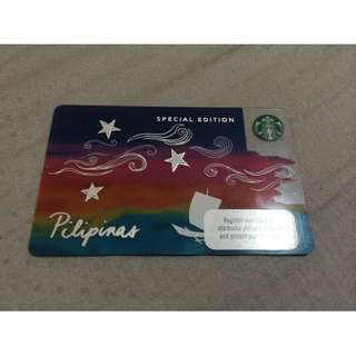 Starbucks Limited Edition Kape Vinta Card with P300 Load