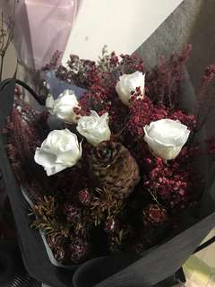 Large Premium Dried Flowers Bouquet