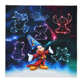 Japan Disneystore Disney Store Mickey Mouse Fantasia D23 Expo LED Light Art Board
