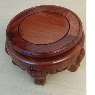 扥花樽的木座