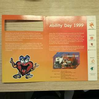 Ability Day 1999 Phonecard
