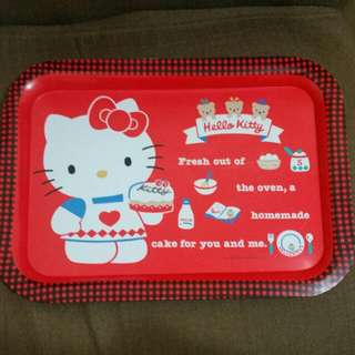 Sanrio vintage Hello Kitty Tray 1990