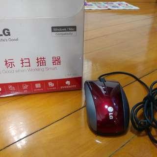 LG 掃描器mouse 滑鼠,Windows and Mac 都可用