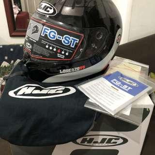 HJC FG-ST DUAL Visor Lorenzo Replica Helmet