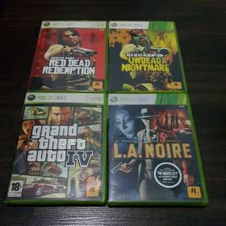 Xbox 360 Games Rockstar collection