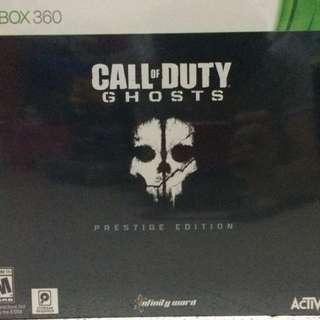 Xbox Call of Duty (Ghost Prestige Edition)
