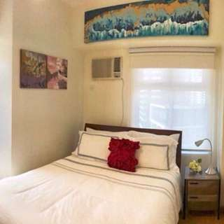 FOR SALE: Newly furnished Studio Unit at BGC: @ Trion Towers 2 Mc Kinley Parkway Ave cor 8th St Bonifacio Global City Taguig
