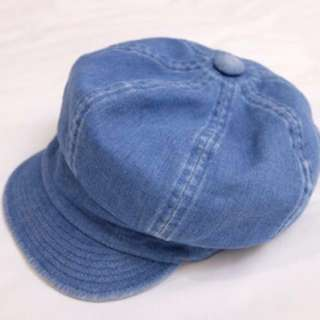 日本品牌 KAO denim newsboy Hat (Made in Japan)