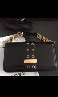Marc Jacobs Lock and Strap wallet on chain