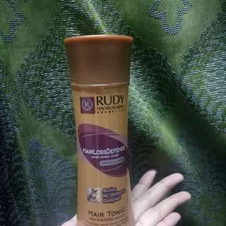 Rudy Hadisuwarno Hair Tonic Hairloss defense
