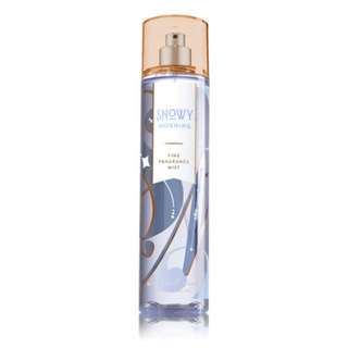 Bath & Body Work Signature Collection Fine Fragrance Mist - Snowy Morning