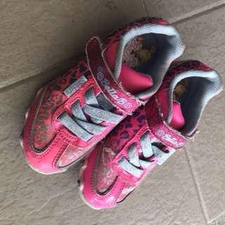 Girls ballerina sketchers shoes