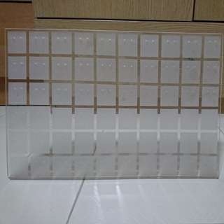 Acrylic Earring Display Stand - 60pairs of earrings