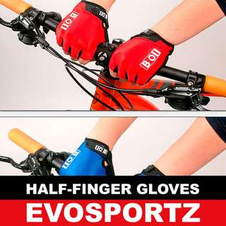 Cycling Gloves - Blue