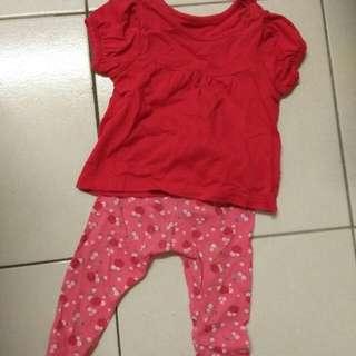 Pakaian baby 0-6m