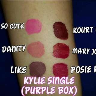 Kylie Single Box Lipie