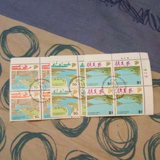 Singapore stamps. 3 in 1.