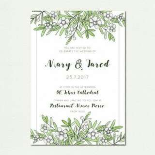 Layout For Invitations