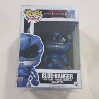 Legit Brand New With Box Funko Pop Movies Power Rangers Blue Ranger