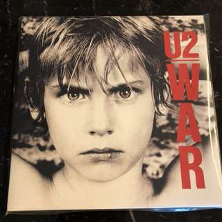 U2 - War. Vinyl Lp. New