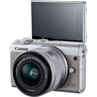 Canon M100 Kit 15-45mm (Grey)