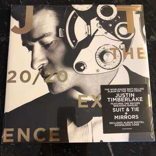 Justin Timberlake - The 20/20 experience. Vinyl Lp new