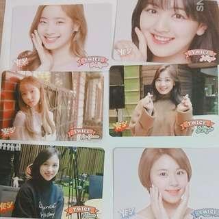 Twice 29期yes card