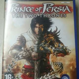 Ps2 Prince Of Persia (The Two Thrones) Original