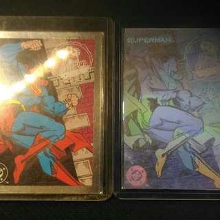 Superman Hologram Foil 一對