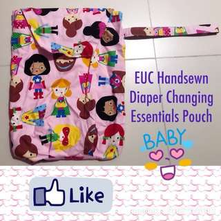 Pouch for Diaper Essentials