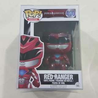 Legit Brand New With Box Funko Pop Movies Power Rangers Red Ranger