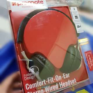 Promate Thump Stereo Wired Headset