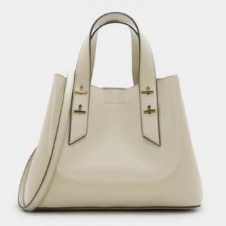 Charles and Keith EMBELLISHED SLOUCHY HANDBAG