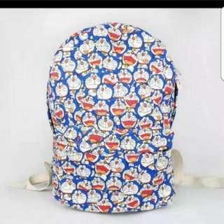 In Stock Doraemon School Bag Backpack Haversack Size is 29 × 12 × 40cm