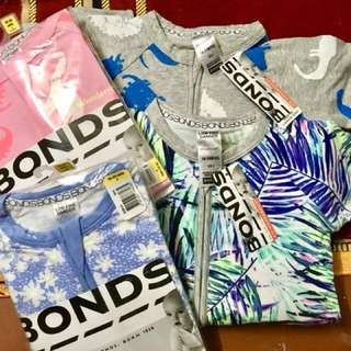 BONDS COMBO SIZE 2 *UNICORNS*