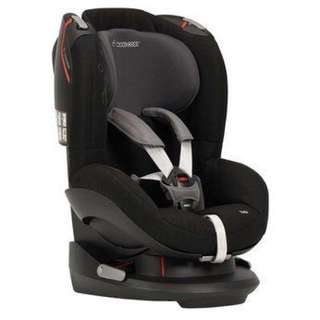 Swell Maxi-Cosi Tobi Car Seat in Total Black - Cleva Edition