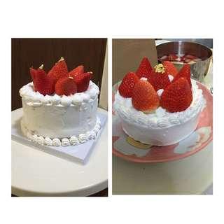 金箔草莓蛋糕