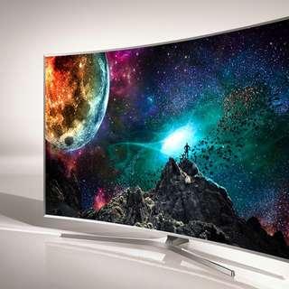 "Samsung 65"" SUHD 4K Nano Crystal Curve Smart 3D TV JS9000"