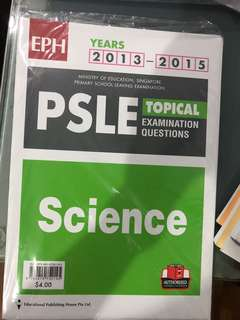 PSLE science past year papers