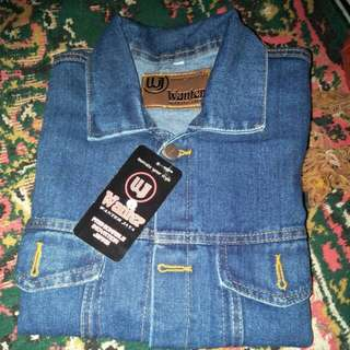 Jaket denim wanter
