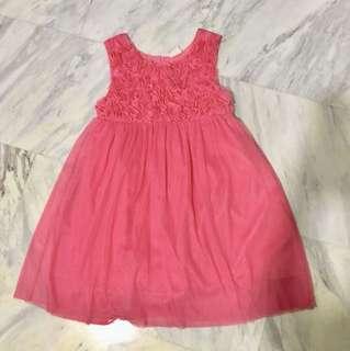 Preloved - Girl's Rose Pink Dress