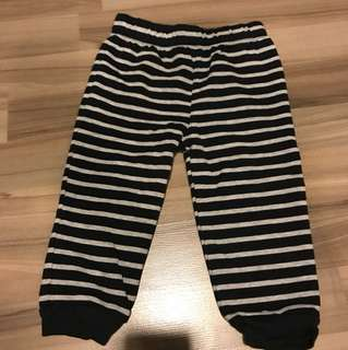 bn carter's baby cotton pants size 12 months